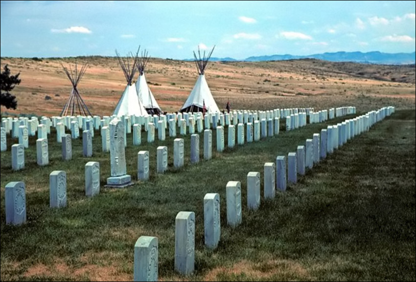 Little bighorn battlefield Custers Last Stand Tours