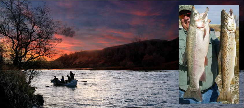 Bighorn River Fishing in Montana