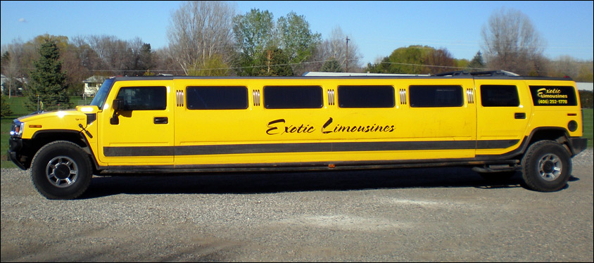 Billings Transportation Hummer Limo