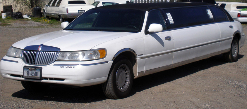 Billings Transportation White limo