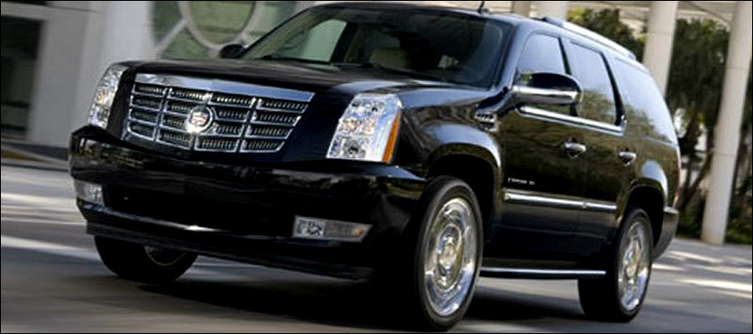 Billings Transportation Black Escalade