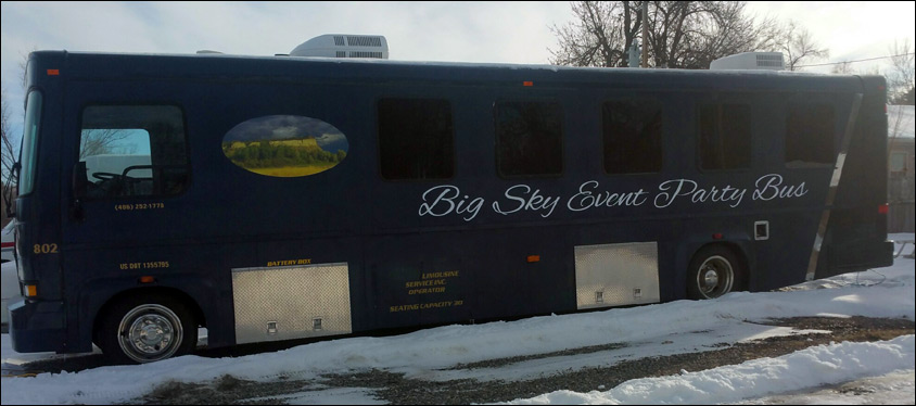 Billings Party Bus